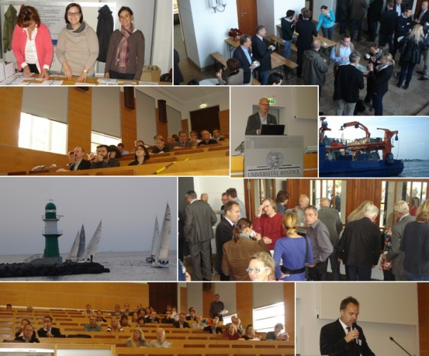 impressions from the dredging seminar in Rostock September 2014